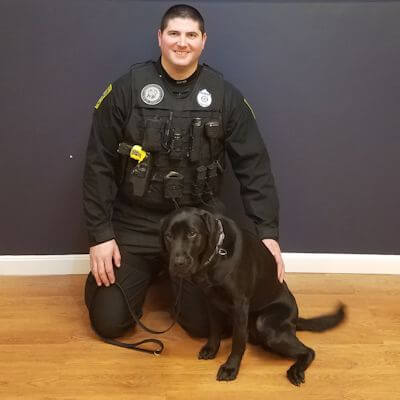 Officer Kevin Fullum & K9 Voney